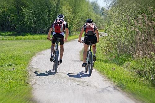 Cykla till träningen
